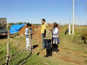 Exitosa visita de Mariano Camera a los Barrios Los Cardales y Uocra.