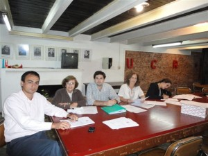 Mariano Camera, Lia Avalle, Lisandro Herrera, Ana Lia De Salvo, Clara Dacciavo.