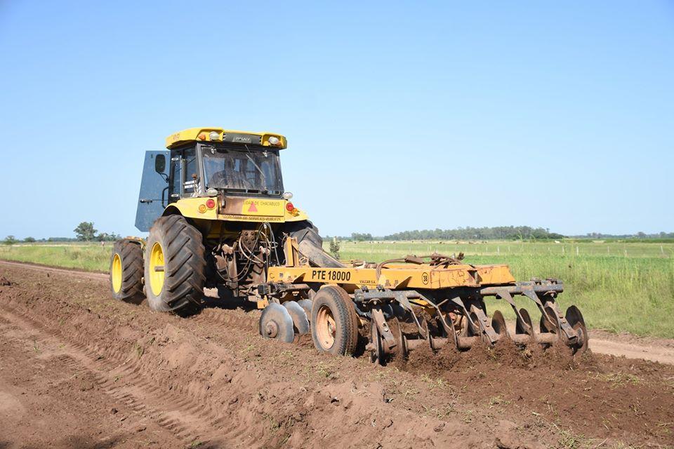 Municipio y sector productivo: mantenimiento de caminos rurales