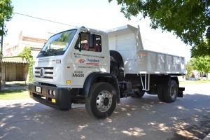 El nuevo vehículo para el corralón municipal de Rawson.