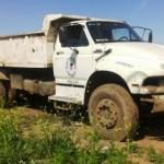Imagen del camión municipal que protagonizó la tragedia.
