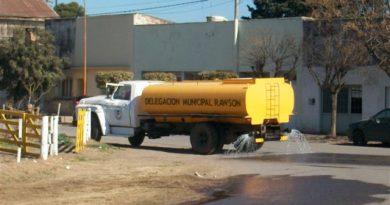 El martes 19 de febrero, no se prestará el servicio de riego en Rawson.