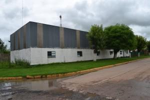 Cancha de Bochas Club Sarmiento de Rawson.