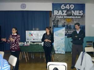 Capacitcación sobre Concejos Deliberantes Estudiantiles en Chacabuco.