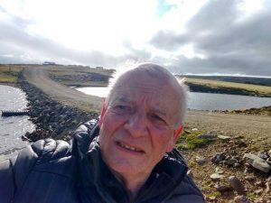 Carlos Parada en Malvinas.