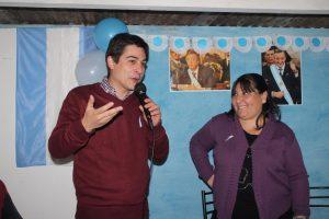 """Carnaghi inauguró Unidad Básica """"Néstor Kirchner"""""""