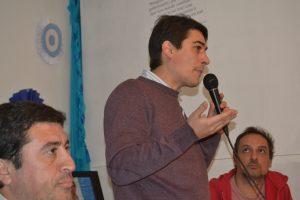 Concejal electo, Martín Carnaghi.