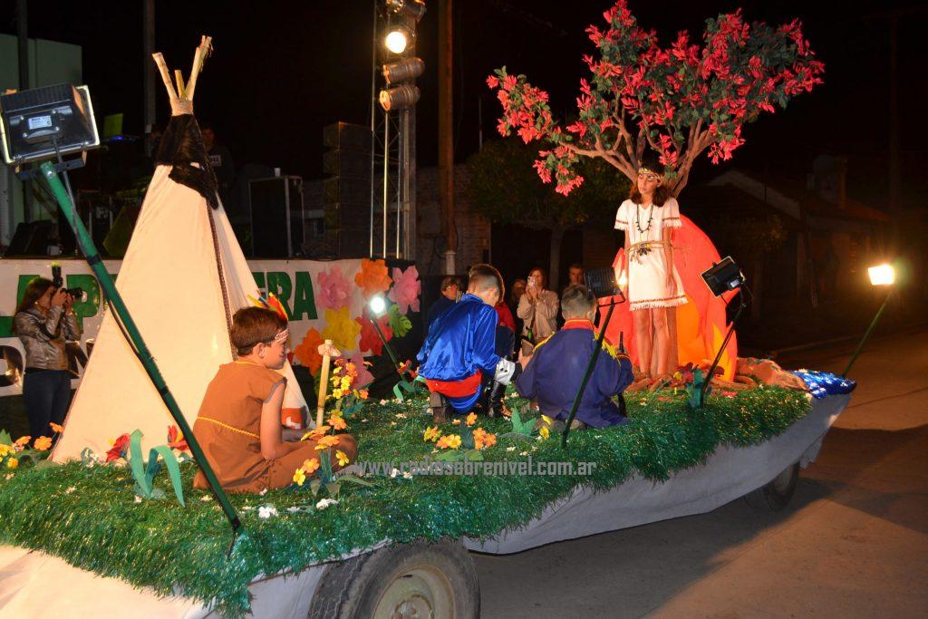 """""""Leyenda de la flor del Ceiba"""", que representaba a la Cooperadora del Hospital Ángel Rossi-Catalina Zunino de Rossi"""""""