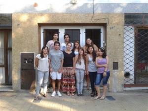 Se  renovó alquiler de casa de los estudiantes de Chacabuco que residen en la ciudad de La Plata.