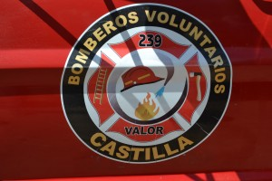 Piden para finalizar el piso del nuevo cuartel de Bomberos Voluntarios de Castilla.