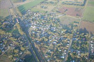 Vista aérea de Castilla.