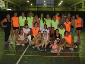 Participantes del Torneo de Cestoball en Chacabuco.