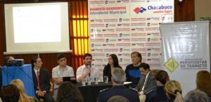 Charla sobre periodismo y seguridad vial en Chacabuco.