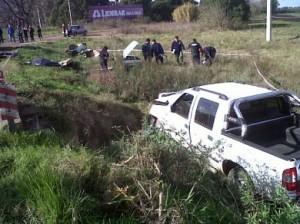 Otra tragedia vial: 3 muertos en ruta 7 y camino a Carlos Keen.