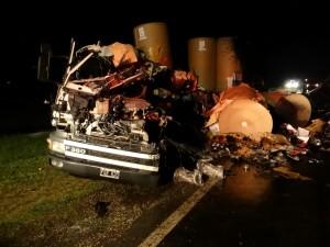 Imagen del accidente: Foto: junin24.com.ar