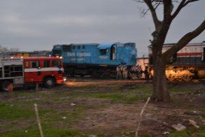 Un detenido por el choque de trenes en Rawson.
