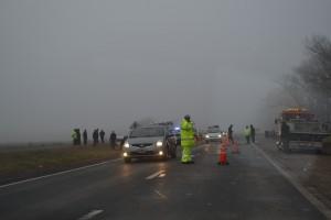Otras dos víctimas se cobra la Ruta 7.