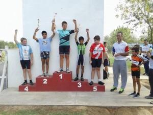 Ciclismo en Chacabuco.
