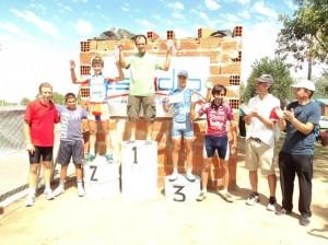 Jornada de ciclismo en Chacabuco.