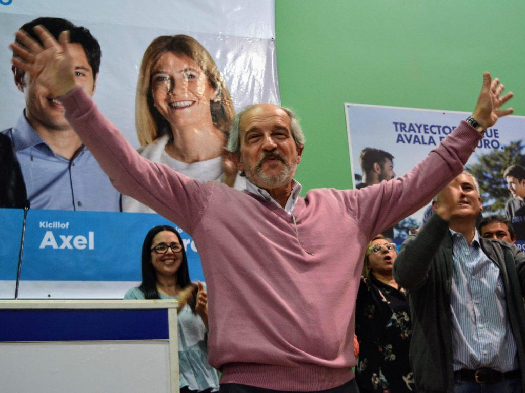 Ricardo Ciminelli prepara su cierre de campaña