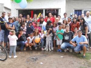 Se inauguró en el Barrio San Antonio un Centro de Integración Popular.