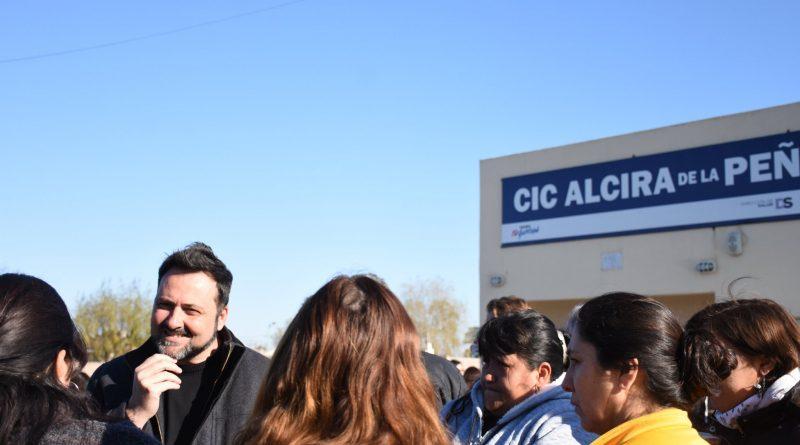 Se inicia la obra de red cloacal para Alcira de la Peña