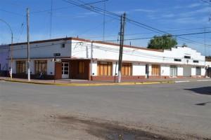 Sede social del Club San Lorenzo de Rawson.