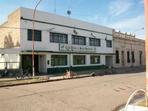 Sede social del Club Atlético y Social Sarmiento de Rawson.