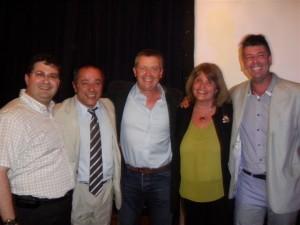 Reunión Provincial de Concejales Pro en Capital Federal.