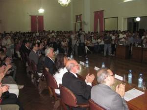 Imagen del HCD en la jura de los nuevos concejales. Foto gentileza Pablo Pastore.