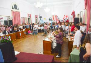 Jura y asunción de los concejales electos