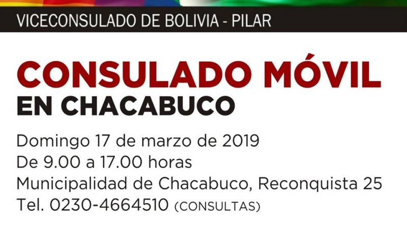 Consulado Móvil en Chacabuco