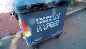 Piden por limpieza y desinfección de contenedores de residuos