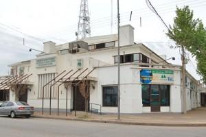 En la imagen el edificio de la Cooperativa de Marcos juárz.