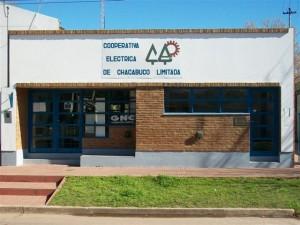Edificio de la Cooperativa Eléctrica de Chacabuco en Rawson.