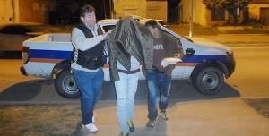Mariano Ariel Cuti detenido.