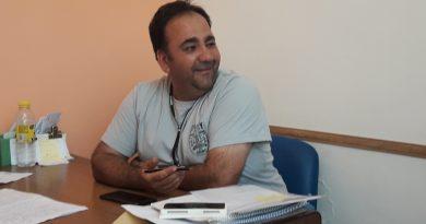 Daniel Quevedo, encargado de la Oficina de BAGSA en Rawson.