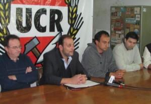 Presentación de nuevas autoridades de la UCR de Chacabuco.