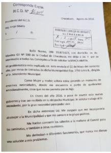 Denuncian por acoso a un dirigente de Cambiemos