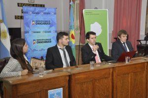 Autoridades provinciales de Derechos Humanos en Chacabuco