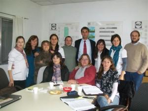 Reunión de las instituciones de la mesa de discapacidad de Chacabuco.