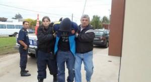 Cuatro chacabuquenses fueron detenidos en Chivilcoy.