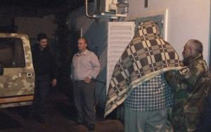 Francisco Saba es llevado detenido por la Policía.