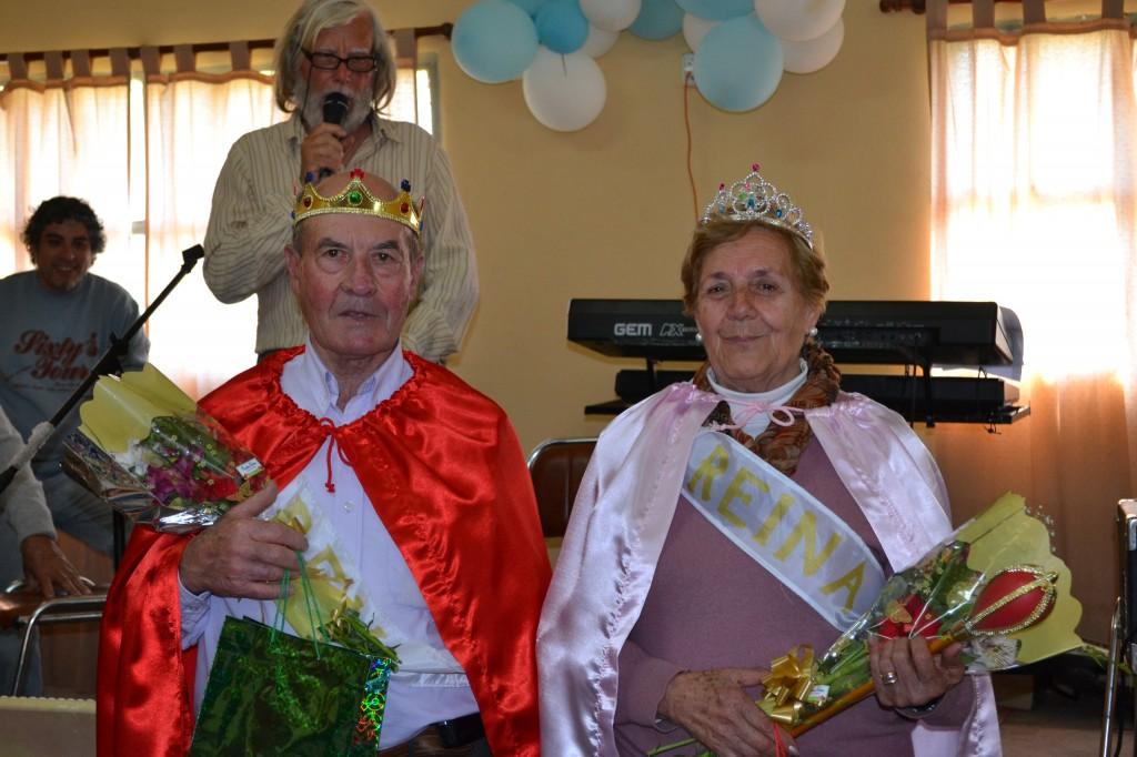 Ángel Mac Louglin, Rey y Juana Villanueva, Reina.