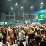 Cerca de 1000 municipales estuvieron presentes en Porteño.