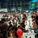 Imagen de la cena en el Club Porteño.