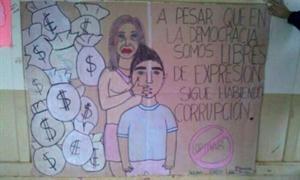 El dibujo que desportó polémica en La Cámpora.