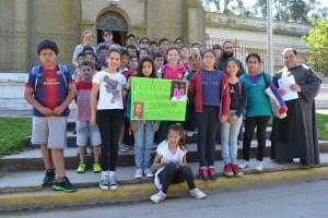 Fieles de Rawson se unen a los festejos de la Arquidiócesis Mercedes-Luján.