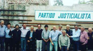 Acto por el Día de la Lealtad Peronista en Alberti.
