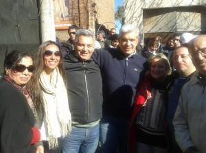 Barrientos y Domínguez en Los Toldos.